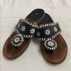 Jack Rogers Ms Palm Beach Sandals Girls size 1